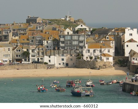 St. Ives - stock photo