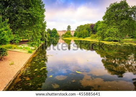 St James Park, London, UK. - stock photo