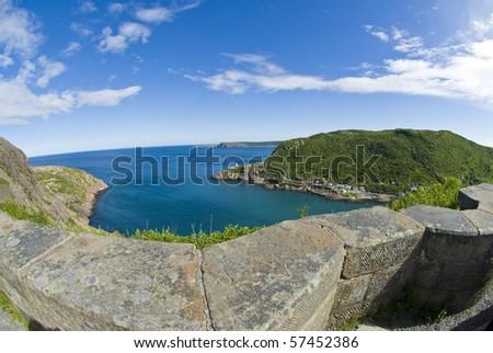 St. John's Signal Hill - stock photo