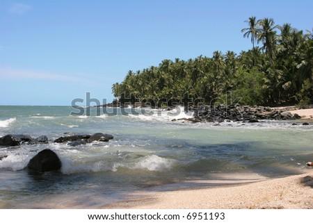 St Joseph island, South America, French Guiana - stock photo