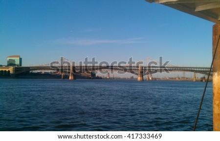 St louis bridges - stock photo