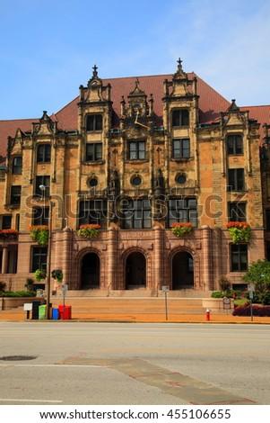 St. Louis City Hall - Landmark City Hall building on Market Street in St.Louis, - stock photo