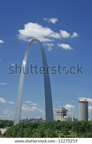 St Louis Gateway Arch - stock photo
