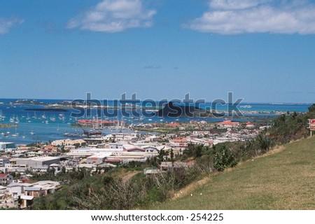 St. Maarten US Virgin Island - stock photo