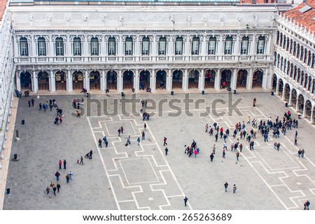 St Mark's Square (Piazza San Marco - stock photo
