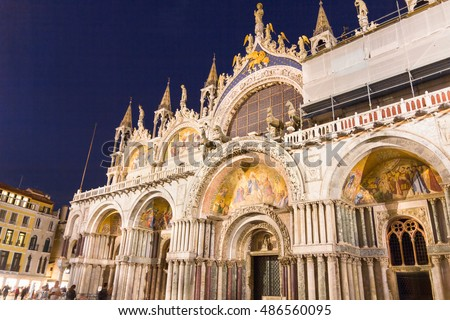 St. Marks Cathedral in Venice, Italy