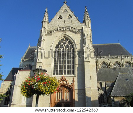 St. Martins, Aalst: The newly renovated exterior of the church of St. Martin (Sint Martinus Kerk)  in Aalst, Belgium.