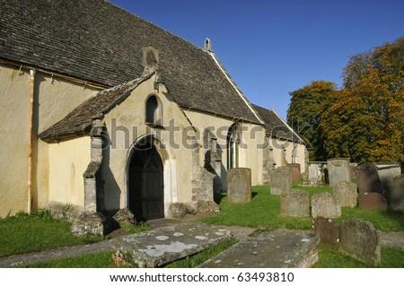 St. Mary's Church, Arlingham, Nr. Frampton On Severn - stock photo