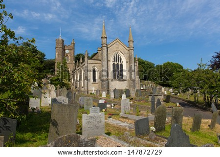 St Marys Church Appledore Devon England located near Barnstaple and Bideford England.