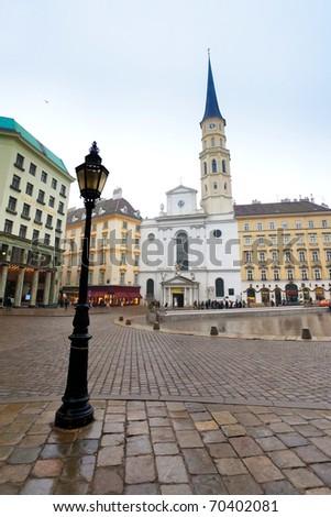 St. Michael church in Vienna, Austria, Europe - stock photo