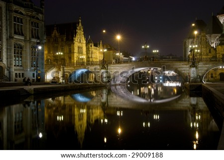 St. Michael's Bridge, Gent