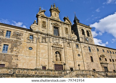 St. Nicholas Church in Villafranca del Bierzo, Leon, Spain