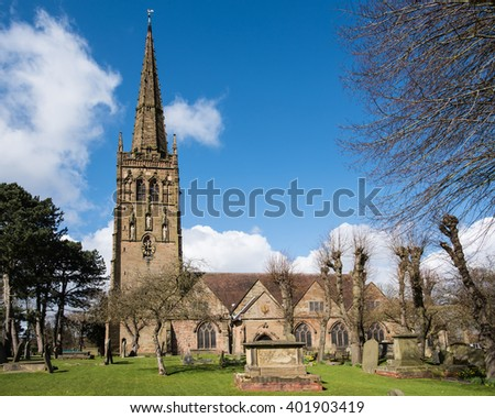 St. Nicholas Church, Kings Norton Green, Birmingham.