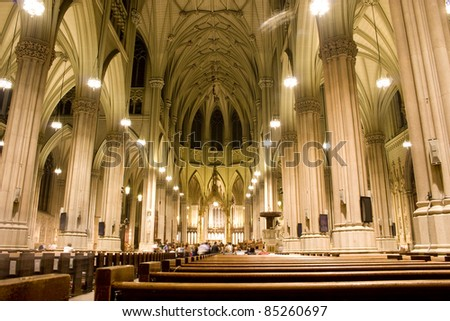 St. Patrick's Cathedral - stock photo