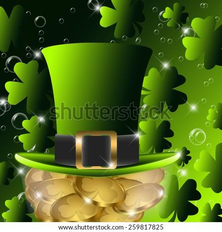 St. Patrick's Day Background - stock photo