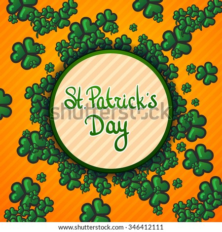 St.Patrick's Day background - stock photo