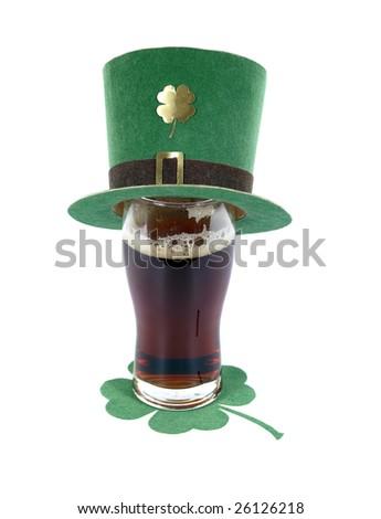 St. Patrick's day symbols - stock photo