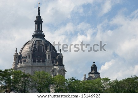 St. Paul's Cathedral - stock photo