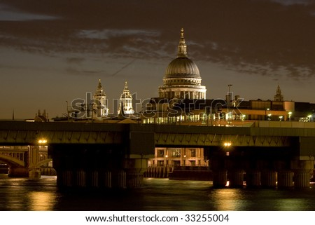 St Paul's Cathedral - stock photo