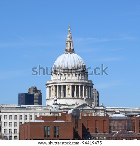 St Pauls Cathedral in London, United Kingdom (UK)