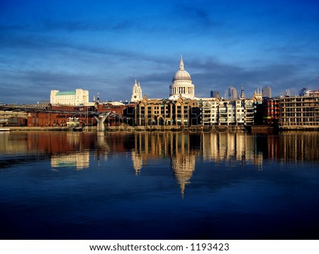 St Pauls Cathedral, London - stock photo
