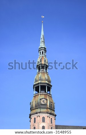 St.Peter cathedral (Riga, Latvia)