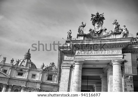 ST. Peter Rome - stock photo