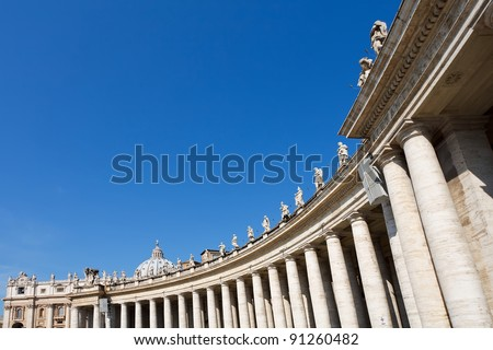 St. Peter's Basilica - stock photo