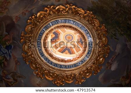 St. Peter's Basilica in Vatican - stock photo