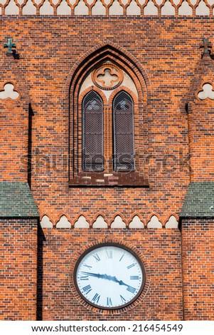 St. Peter's Church in Copenhagen, Denmark. - stock photo
