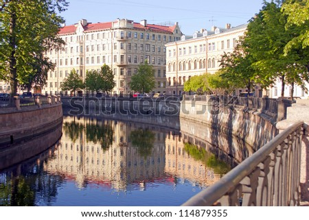 St. Petersburg. Griboedov Canal Embankment