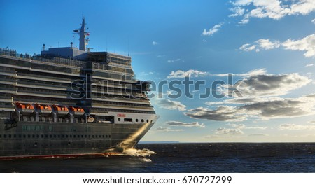 Elizabeth Queen Cruise Ship Stock Images RoyaltyFree Images - Queen of the seas cruise ship