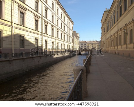 St. Petersburg, Winter Canal