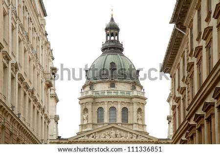 St Stephen's Basilica, Budapest - stock photo