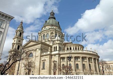 St Stephen's Basilica in Budapest, Hungary