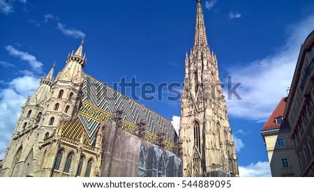 St. Stephen's Cathedral is the mother church of the Roman Catholic Archdiocese of Vienna and the seat of the Archbishop of Vienna, Austria.