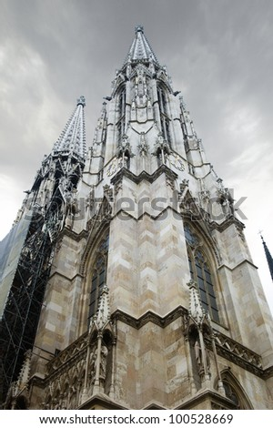 St. Stephen's Cathedral, Vienna - stock photo