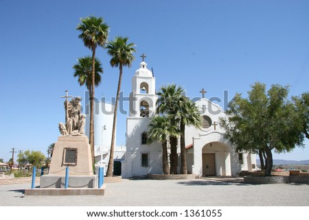 St. Thomas Mission - stock photo