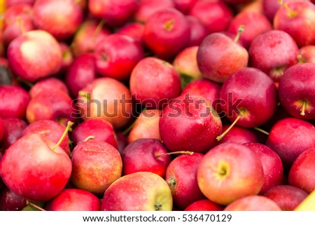 Stack of apple