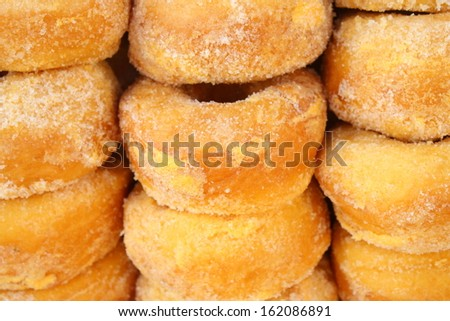 stack of big donut