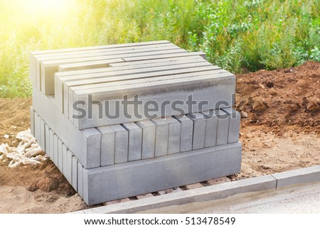 Concrete Curb Stock Images Royalty Free Images Amp Vectors