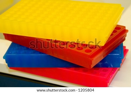 Stack of racks - stock photo