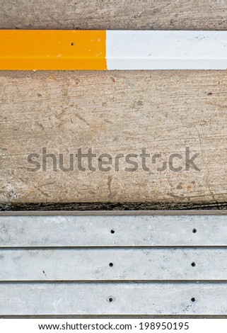 Stack of Readymade Concrete Wall/Floor - stock photo