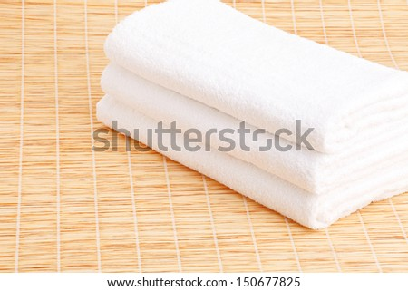Stack towel