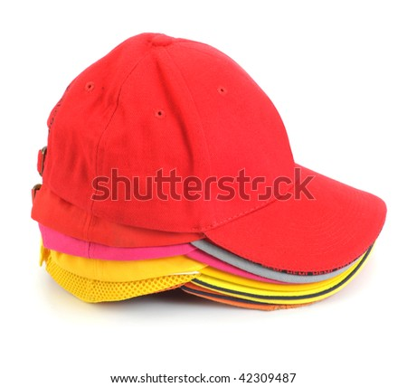 Stacked cap - stock photo