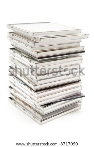 Stacked Jewel Cases