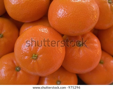 Stacked Tangerines