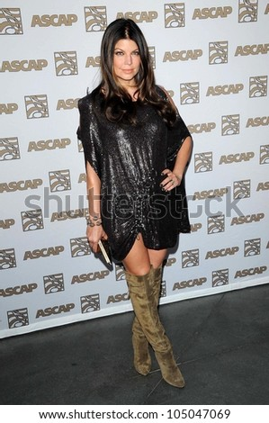 Stacy Ferguson at the 2009 ASCAP Pop Awards. The Renaissance Hollywood Hotel, Hollywood, CA. 04-22-09