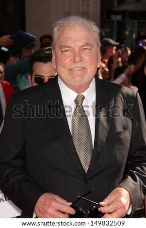 Stacy Keach at the World Premiere Of Disney's Planes, El Capitan, Hollywood, CA 08-05-13