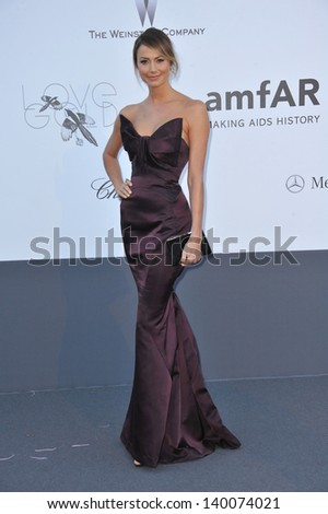 Stacy Keibler at amfAR's 20th Cinema Against AIDS Gala at the Hotel du Cap d'Antibes, France May 23, 2013  Antibes, France - stock photo